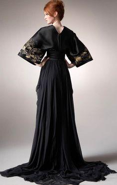 Alexander McQueen Maxi Kimono Gown