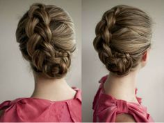 How to do a Braided Updo