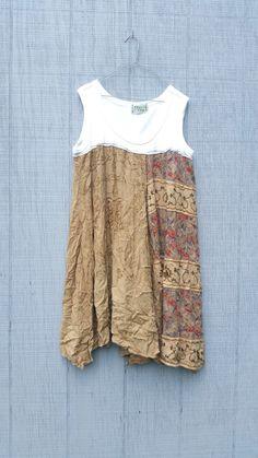 upcycled jumper / Dress / romantic Upcycled / by CreoleSha on Etsy
