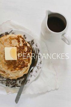 Pear pancakes on @stellerstories