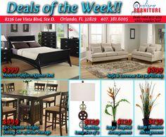 Modern Furniture Orlando summer inventory clearance!! @ madison furniture in orlando, fl