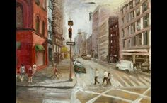 Bill Guffey - Broadway and Broome, New York City