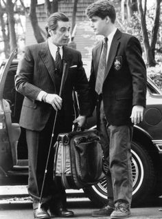 """Lt. Col. Frank Slade (Al Pacino) to Charlie Simms (Chris O'Donnell): """"The day we stop lookin', Charlie, is the day we die."""" -- from Scent of a Woman (1992) directed by Martin Brest"""