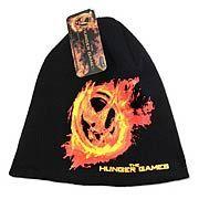Hunger Games Movie Burning Mockingjay Beanie Hat - http://lopso.com/interests/hunger-games/hunger-games-movie-burning-mockingjay-beanie-hat/