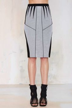 Nasty Gal Shark Deco Pencil Skirt | Shop Clothes at Nasty Gal!