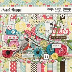 hop, skip, jump by Jenn Barrette