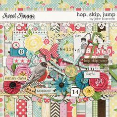 Hop, Skip, Jump by Jenn Barrette. $6.99