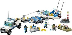 409pcs Police Patrol City Police Set Building Bricks Blocks Toy Gift