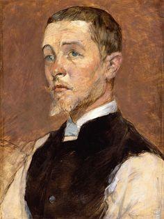 Henri de Toulouse-Lautrec - Albert (René) Grenier [1887]