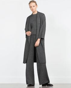 Image 1 of STRAIGHT CUT TROUSERS from Zara