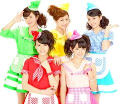 Japanese singing group: °C-ute