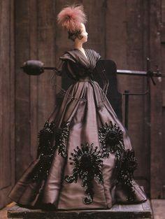 """Nocturne"" dress by Jean Patou for the Theatre de la Mode~Image © David Seidner"