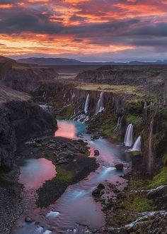 Sigöldugljufur, Iceland