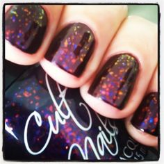 Sparkly nail