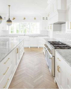 We had so many messages asking to see more of our client's kitchen. So here is another area of this clean and bright space. We are…