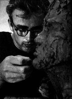 James Dean, 1955 by Sanford Roth