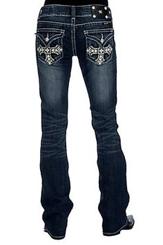 New Cowgirl Boats Outfit Winter Jeans Bathing Suits Ideas Cute Jeans, My Jeans, Miss Me Jeans, Jeans Pants, Jeans And Boots, Dark Jeans, Country Girls Outfits, Cowgirl Outfits, Cowgirl Jeans