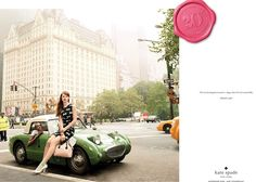 Kate Spade Spring 2013 Ad Campaign: Ajak Deng and Kelly Mittendorf in NYC by Sebastian Kim