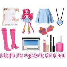 Pinkie Pie (Equestria Girls Doll) - Polyvore