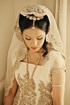 Hottest indian wedding trends in 2013 - south asian life bridal gowns for i Beautiful Indian Brides, Beautiful Bride, Beautiful Dresses, Beautiful Things, Trendy Wedding, Wedding Styles, Wedding Ideas, Wedding Inspiration, Elegant Wedding