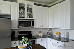 Kitchen - How to paint cabinets part 1