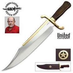 United Cutlery GH5013 Gil Hibben Old West Bowie with Leather Sheath Big SALE going to start saving NOW