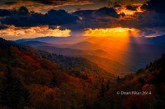 Autumn Sunrise in the Smokies   Flickr - Photo Sharing!