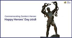 On 2nd July, 2018, this Heroes' Day, let's salute the valor of all freedom fighters and national heroes of Zambia. #TexilaAmericanUniversity