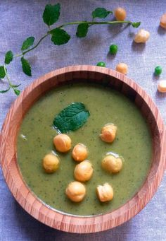 Zupa krem z zielonych warzyw