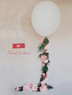 Here at GWS we are big fans of balloons (remember this other DIY Giant Balloon we did?) and so today we paired up with Afloral to put a twist on the giant balloon tassels – just add flowers! Or more specificailly, those all-too-gorgeous peonies. And guess what? They don't need to be in season because these […]