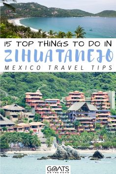 Heading to the beautiful Zihuatanejo? Here are the 15 top things to do in Zihuatanejo, Mexico! This list will show you things to do in Zihua from enjoying pristine beaches, eating fresh seafood, cycling, scuba dive and more. This guide will help you enjoy the amazing Zihua like a local! | #beautifulplaces #wanderlust #bestofmexico Mexico Destinations, Amazing Destinations, Travel Destinations, Stuff To Do, Things To Do, Mexico Travel, Plan Your Trip, Places To See, Traveling By Yourself