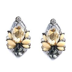 NEW Women Fashion Jewelry Style Earrings Handmade Rhinestone sweet stud crystal earrings for women girl