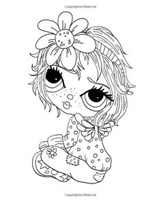 Lacy Sunshine's The Fairy Boo's Coloring Book Volume 18: Adorable Big Eyed Fairies (Lacy Sunshine's Coloring Books): Heather Valentin: 9781535055840: Amazon.com: Books