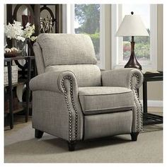 ProLounger® Push Back Recliner - Barley Tan - Handy Living : Target