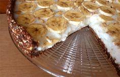 Dietetyczna tarta bananowa