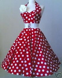 50's retro dress....