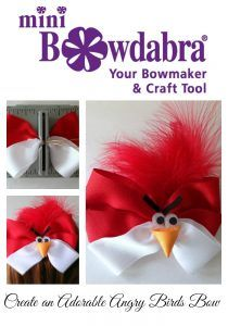 How to Make an Adorable Angry Birds Hair Bow - Bowdabra Blog