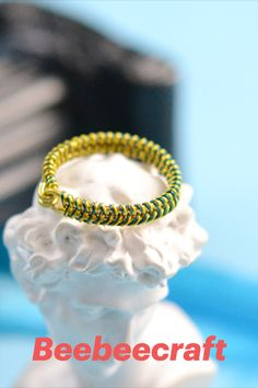 #Beebeecraft excellent idea on making DIY #ring with #nylonthread #jewelry #jewelrymakingsupplies #supplies #crafts #diy #jewelrymaking