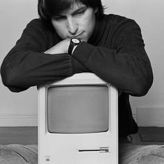 Apple II with Steve Jobs