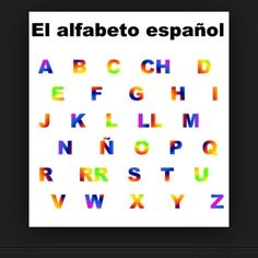 the Spanish alphabet✌️