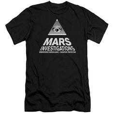 VERONICA MARS/MARTS INVESTIGATIONS-S/S ADULT 30/1-BLACK