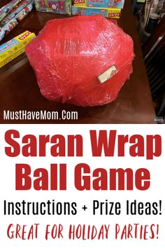 Saran wrap ball game how to make and play the game for adults or kids + filler ideas! Saran wrap ball game how to make and play the game for adults or kids + filler ideas! Fun Christmas Party Games, Xmas Games, Holiday Games, Christmas Fun, Outdoor Christmas, Christmas Games For Adults, Christmas Wrapping, Christmas Morning, White Christmas