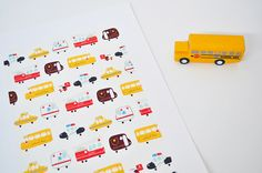 new york print by ian dutton, via Flickr.