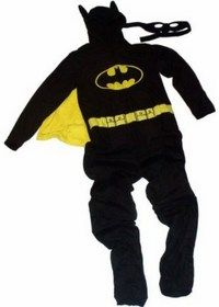 "Adult Batman Hooded Sleeper with Mask - ""I'm Batman"" #Batman #Onesie 