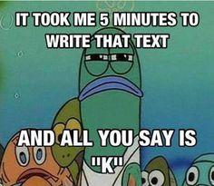 funny spongebob | Trolling Level: Text Message funny-SpongeBob-fish-angry – ActionBash