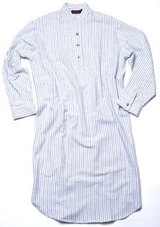 49741a8d8f Irish flannel collarless nightshirt