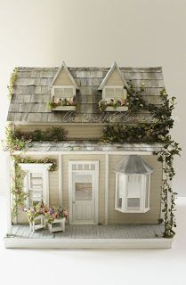 Cinderella Moments: Spirited Away Cottage Dollhouse