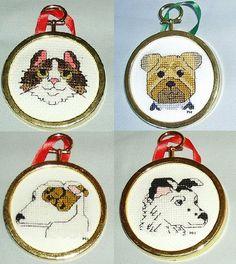 Custom Cross Stitch Ornament