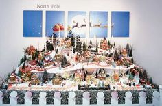 North Pole Department 56 Houses | North Pole Display