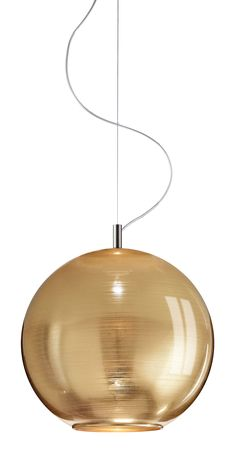 Modern Pendant light Round transparent glass Globe